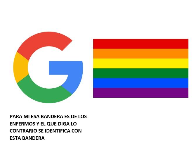 contexto: busquen bandera de los enfermos en Google - meme