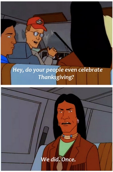Thanksgiving - meme