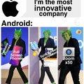 Apple was innovative