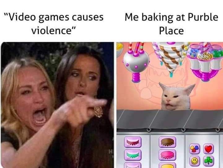 Video games is not violence - meme