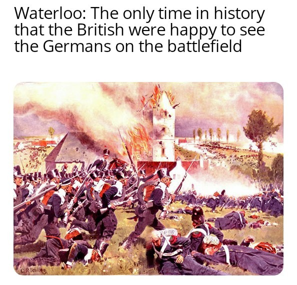 A wild Prussia appears! - meme