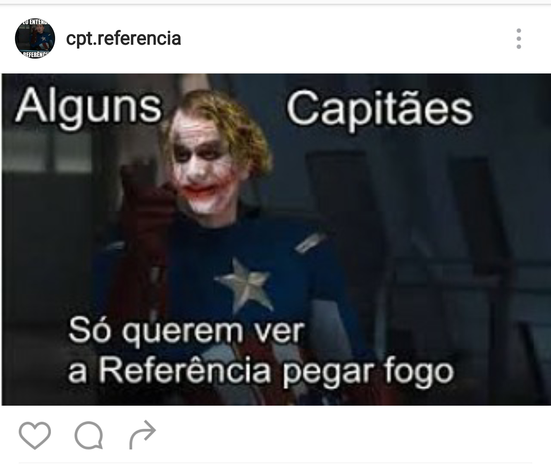 Cpt referencia no instagran - meme