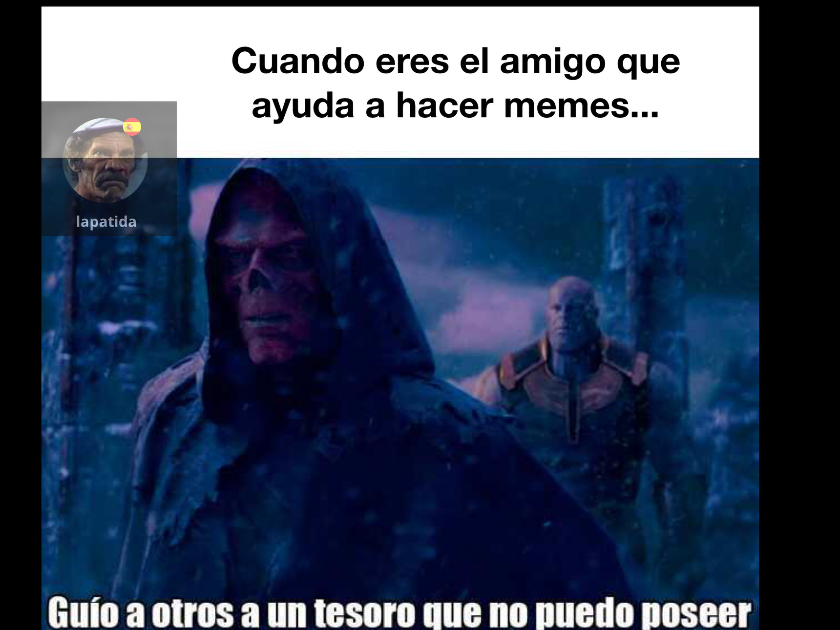 Viva los amigos - meme