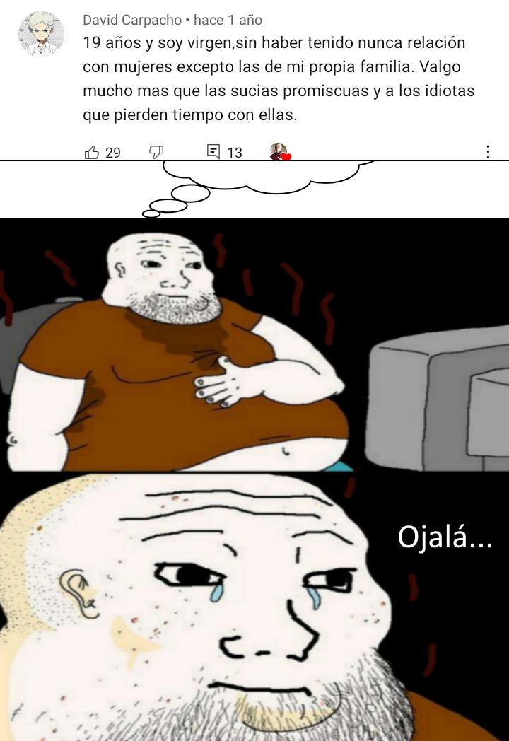Pero que fracasado de mierda - meme