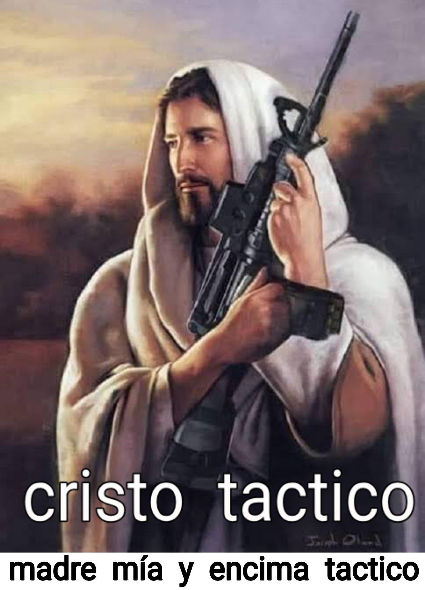 Cristo tactico - meme