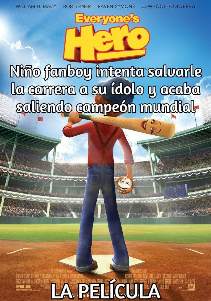 """En español se llama """"No Hay Héroe Pequeño"""" - meme"""
