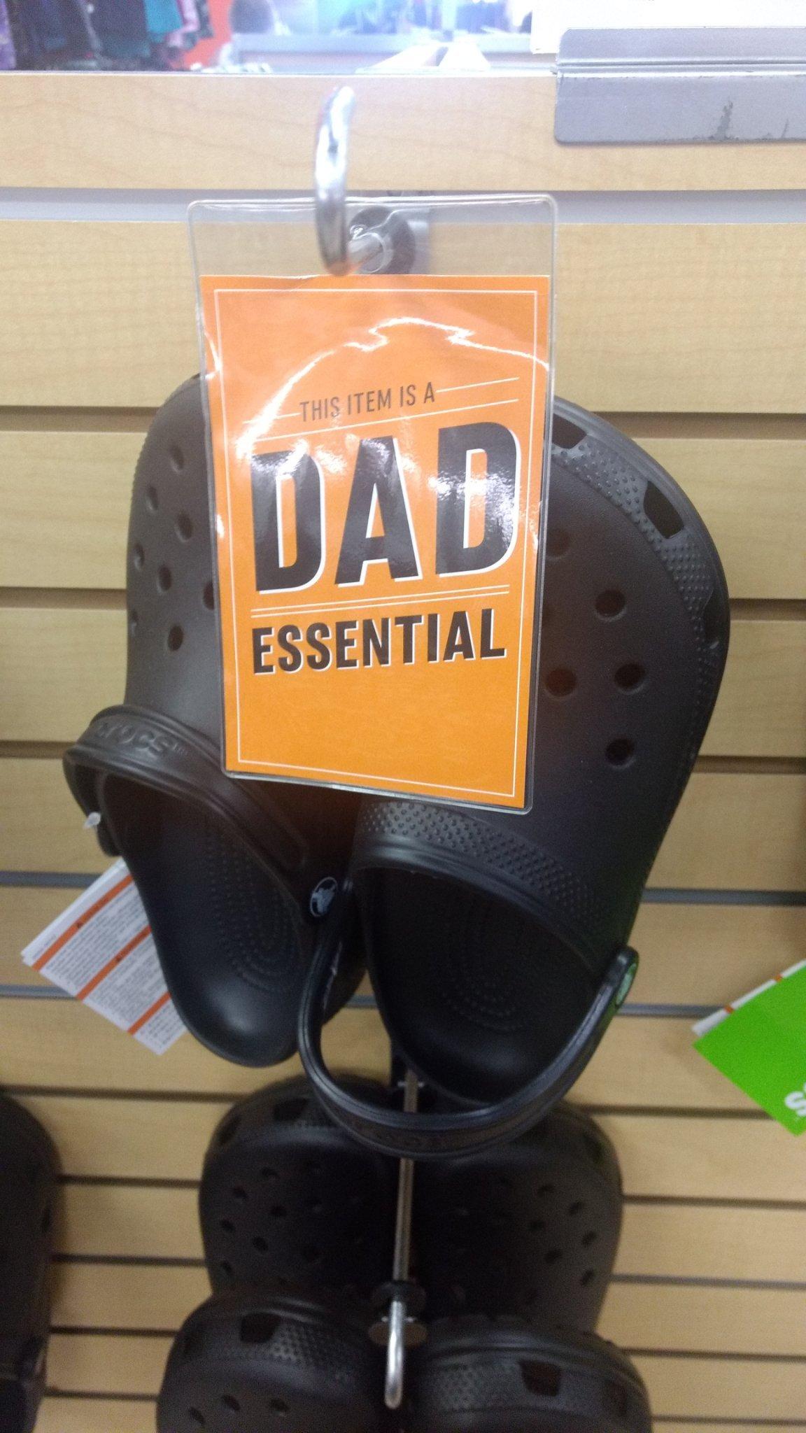 Dad Crocs - meme