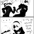 2b's butt saved Platinum games
