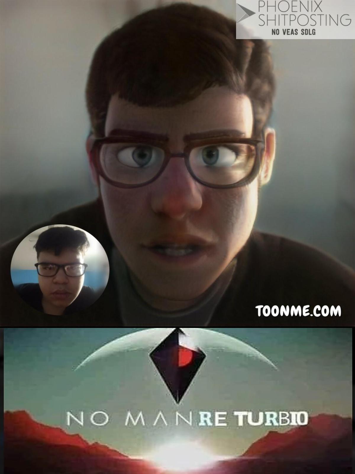 Mi cara versión Pixar (RE-TURBIO) - meme