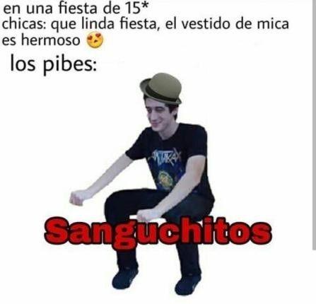 LOS PIBES (-_-) - meme