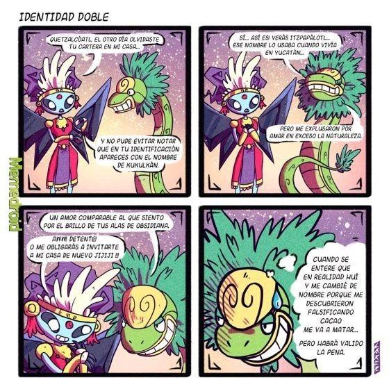 Quetzal, como siempre - meme