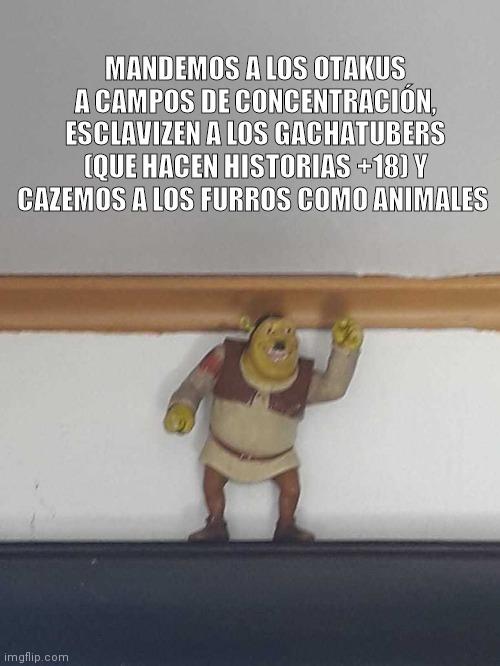Shrek dictador - meme