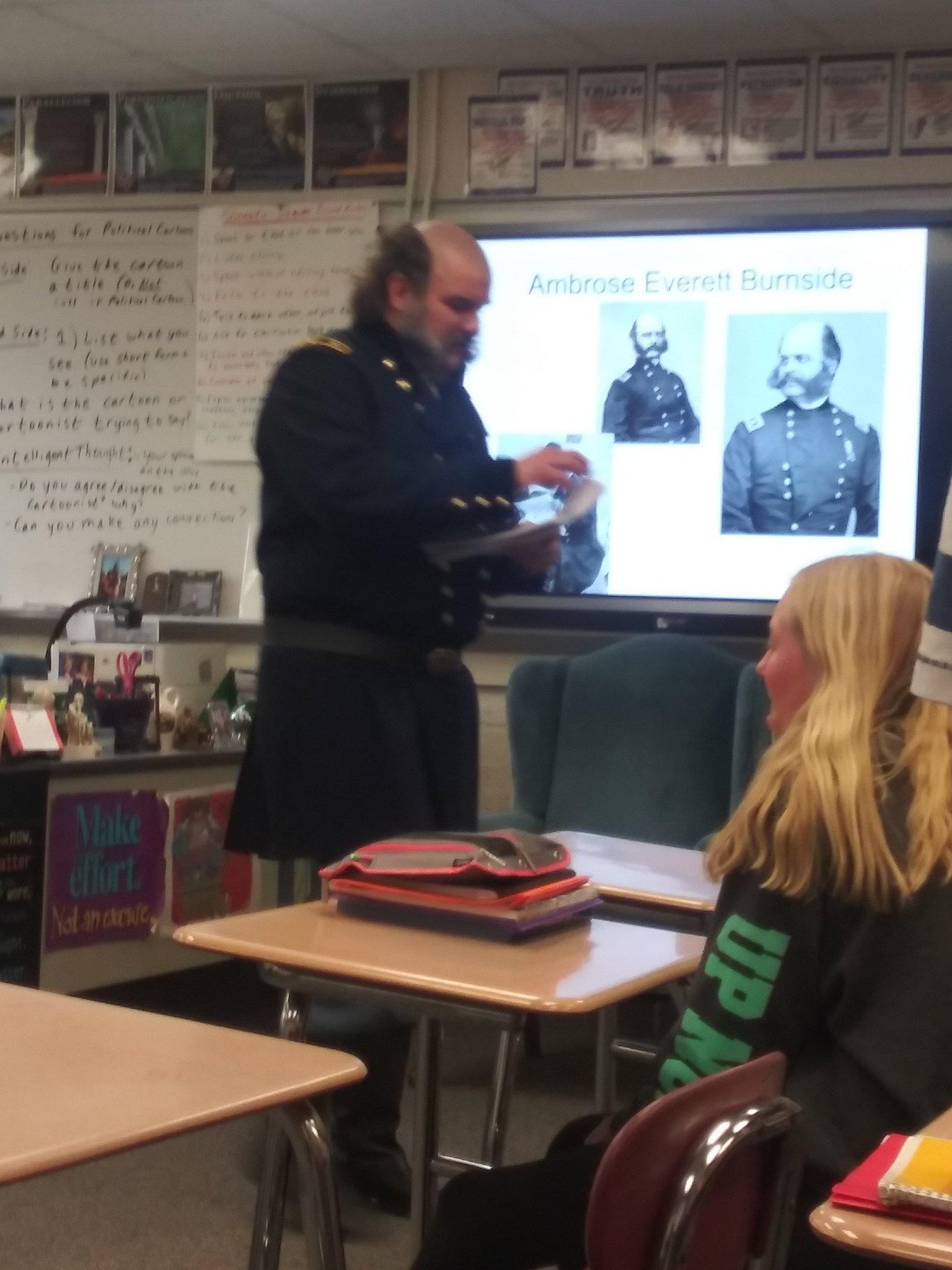 My history teacher from 7th grade... - meme