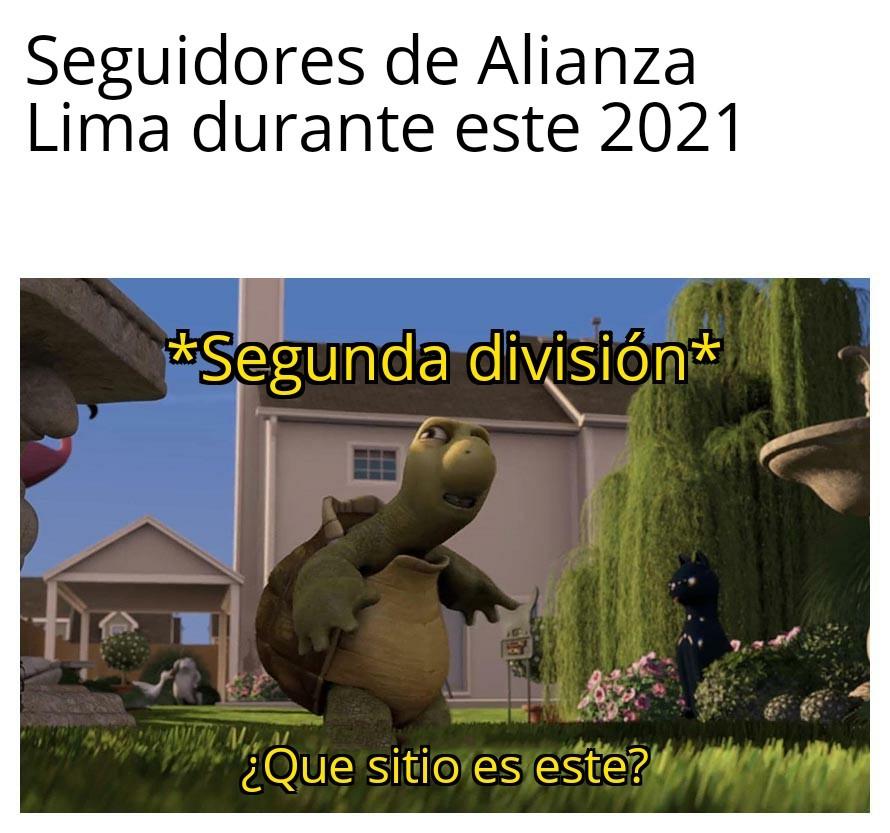 Alianza Lima - meme
