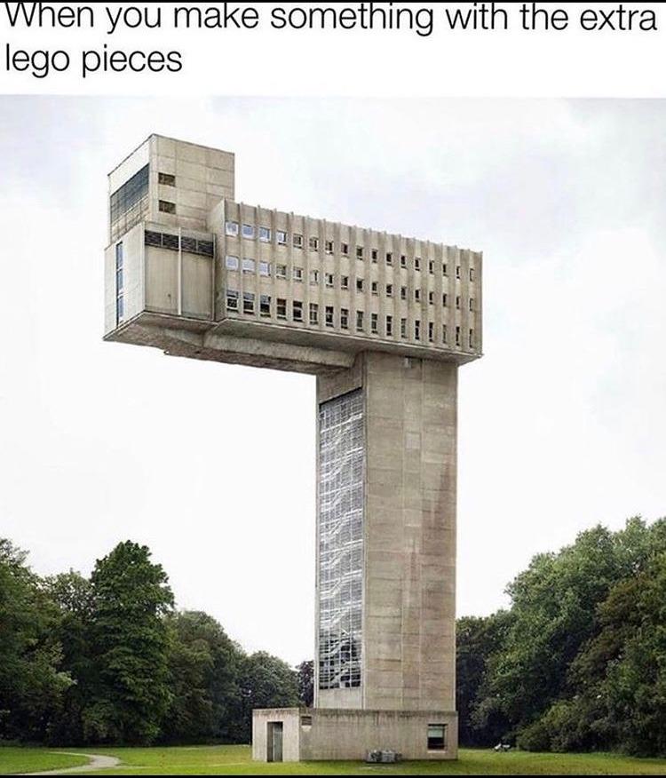 weird building - meme