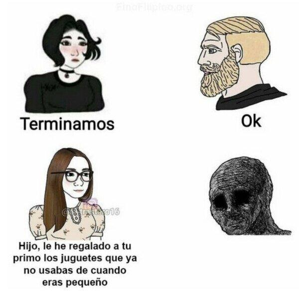 Distintas formas de destrozar el córazon - meme