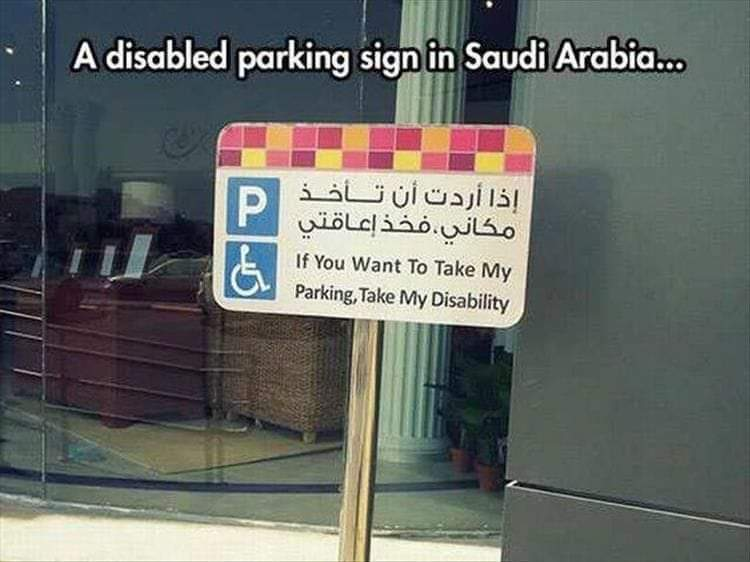 Please return back your disability.. someone is waiting.. - meme