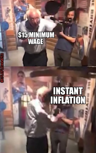 Wait...you mean I have to pay my employees too? - meme