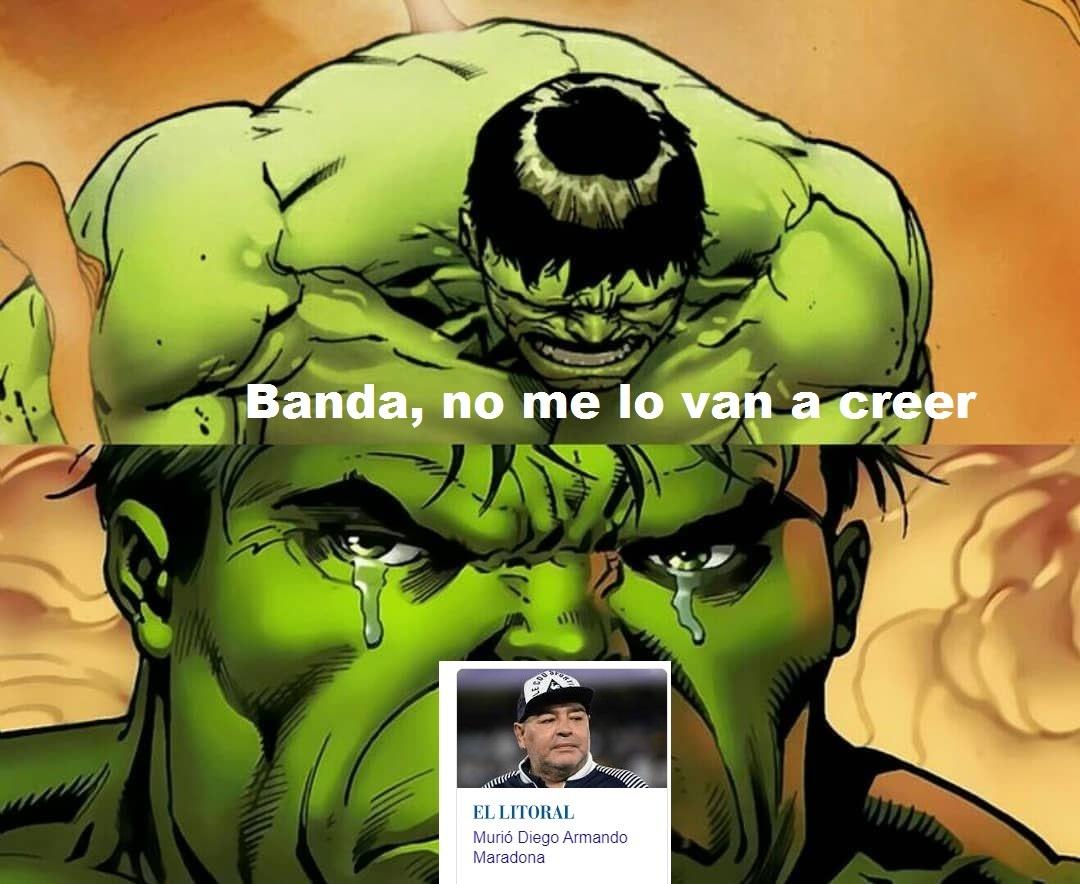 Banda, no me lo van a creer - meme