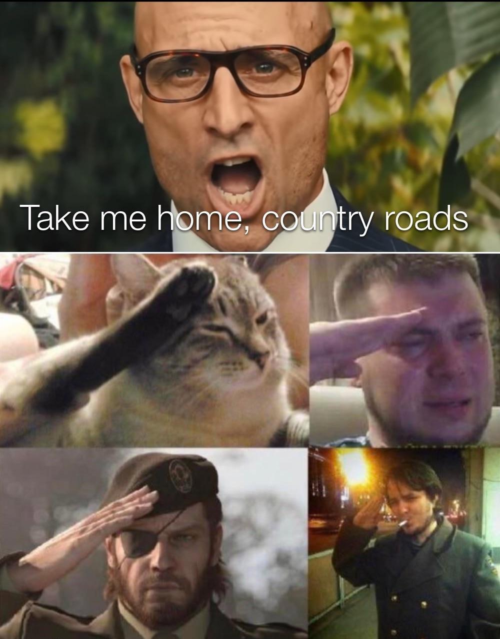 country roooooooads - meme