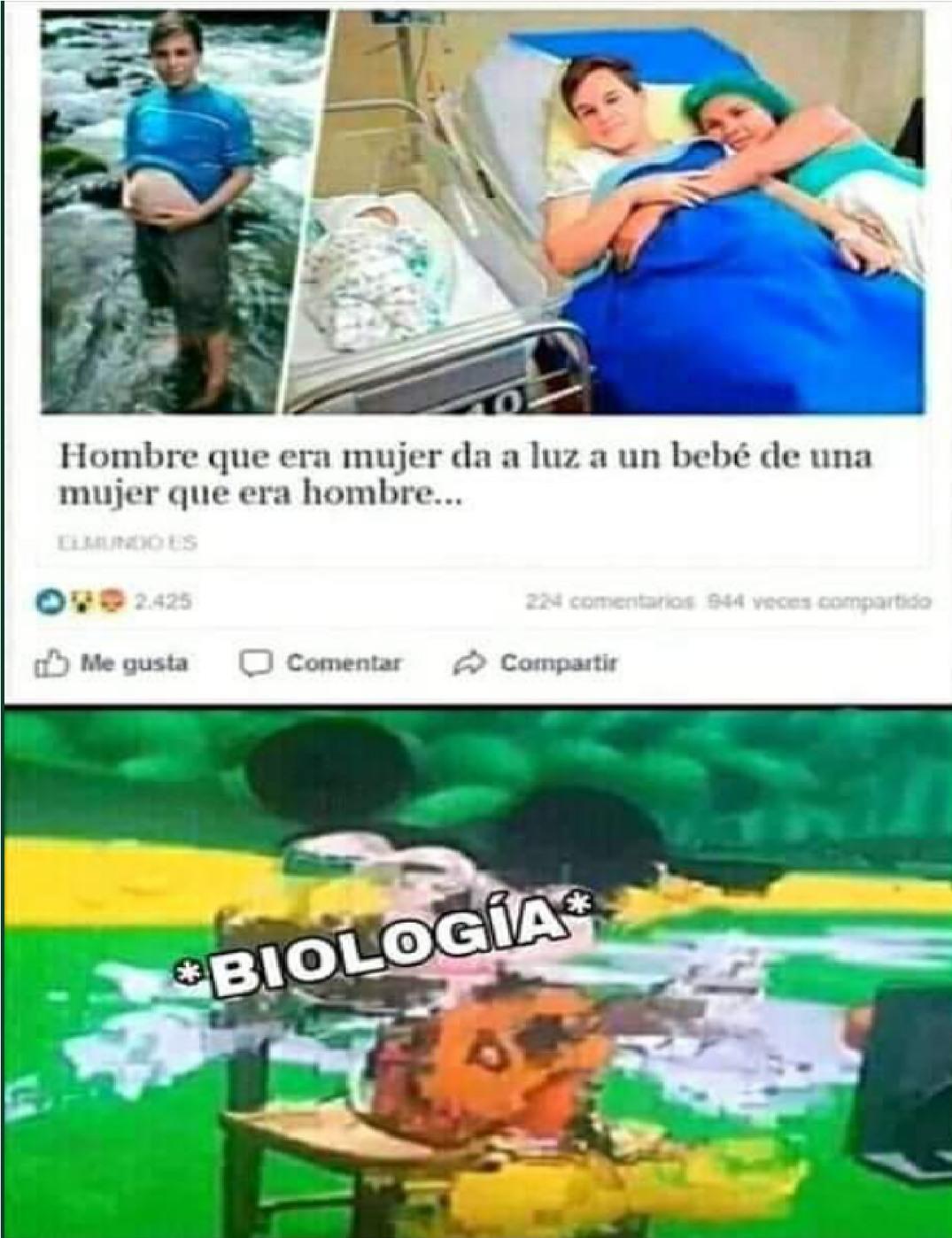 Biologia - meme