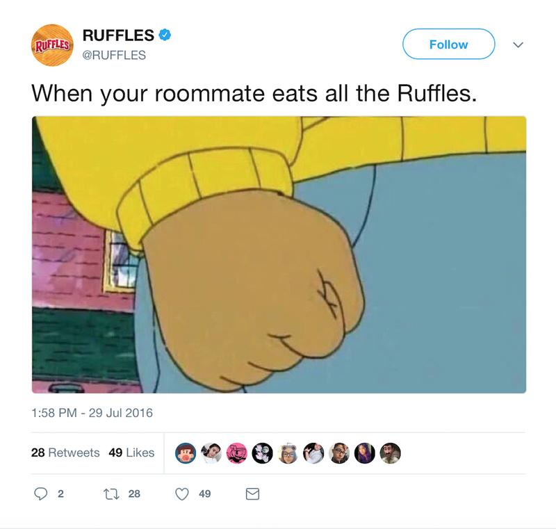 Ruffles - meme