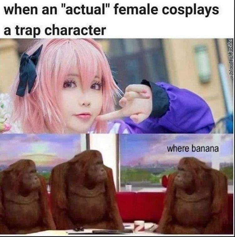 I am MONKE - meme