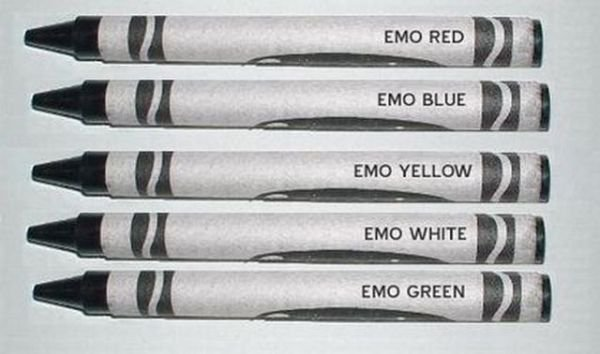 the many colors of emo - meme