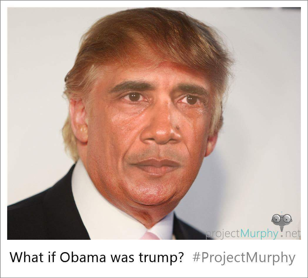 May I introduce you to Obama Trump - meme