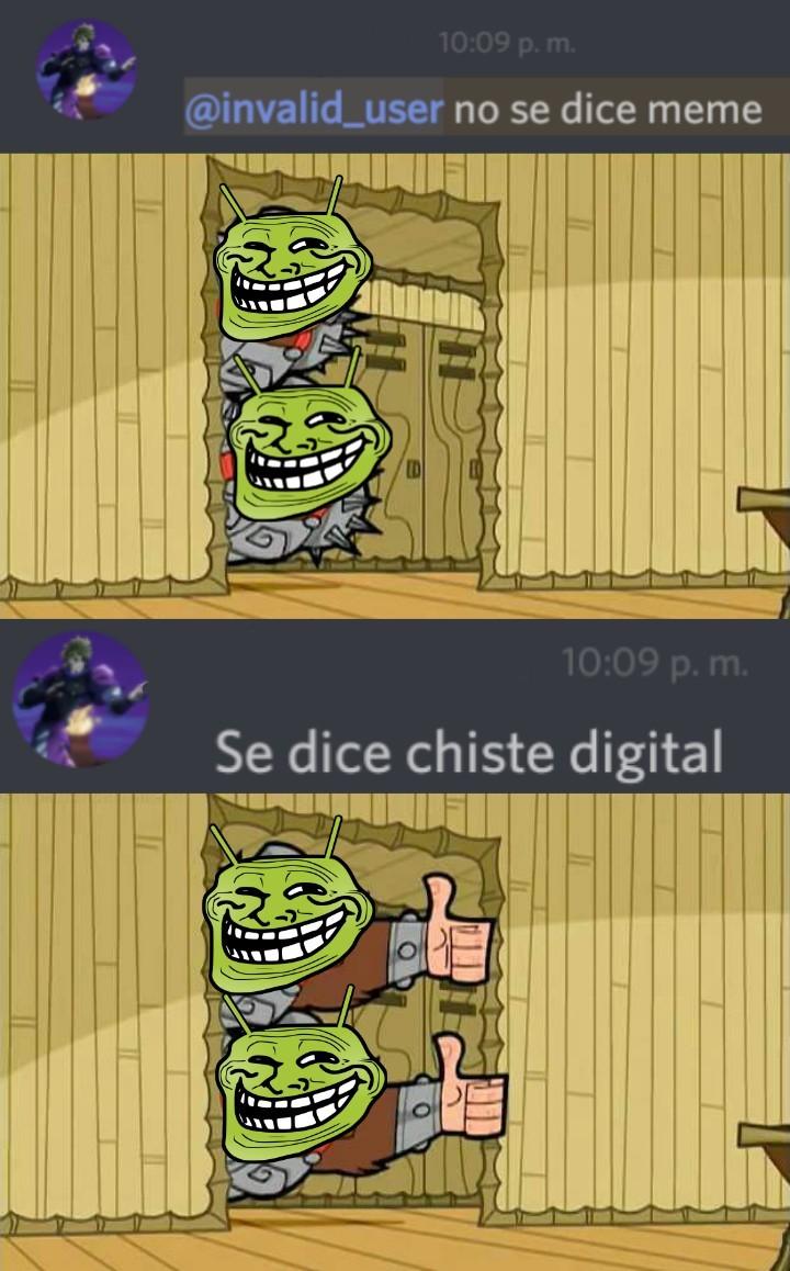 chiste digital - meme