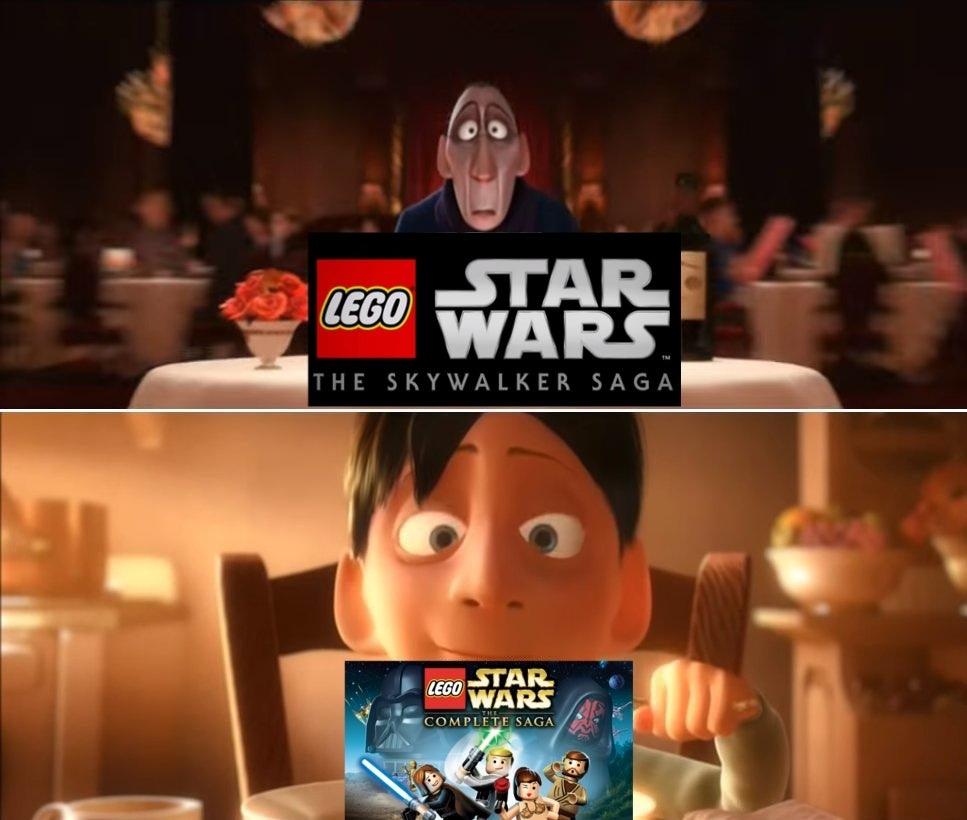 Melhor jogo de Lego é o Complete Saga :truehistory: - meme