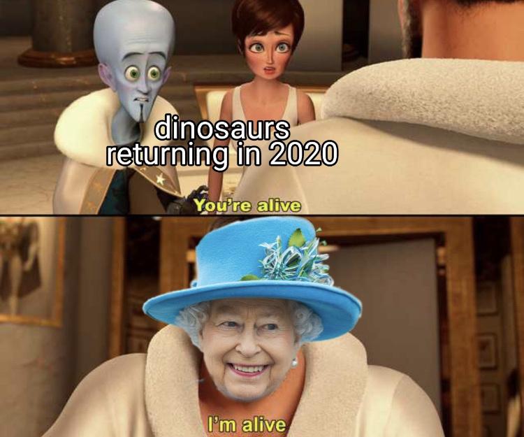 the Queen - meme