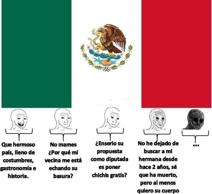 2 cosas, desconozco si ha sido ya posteado  y sin contar lo de la diputada también se aplica a la mayoría de países sudamericanos (incluido el mío) - meme