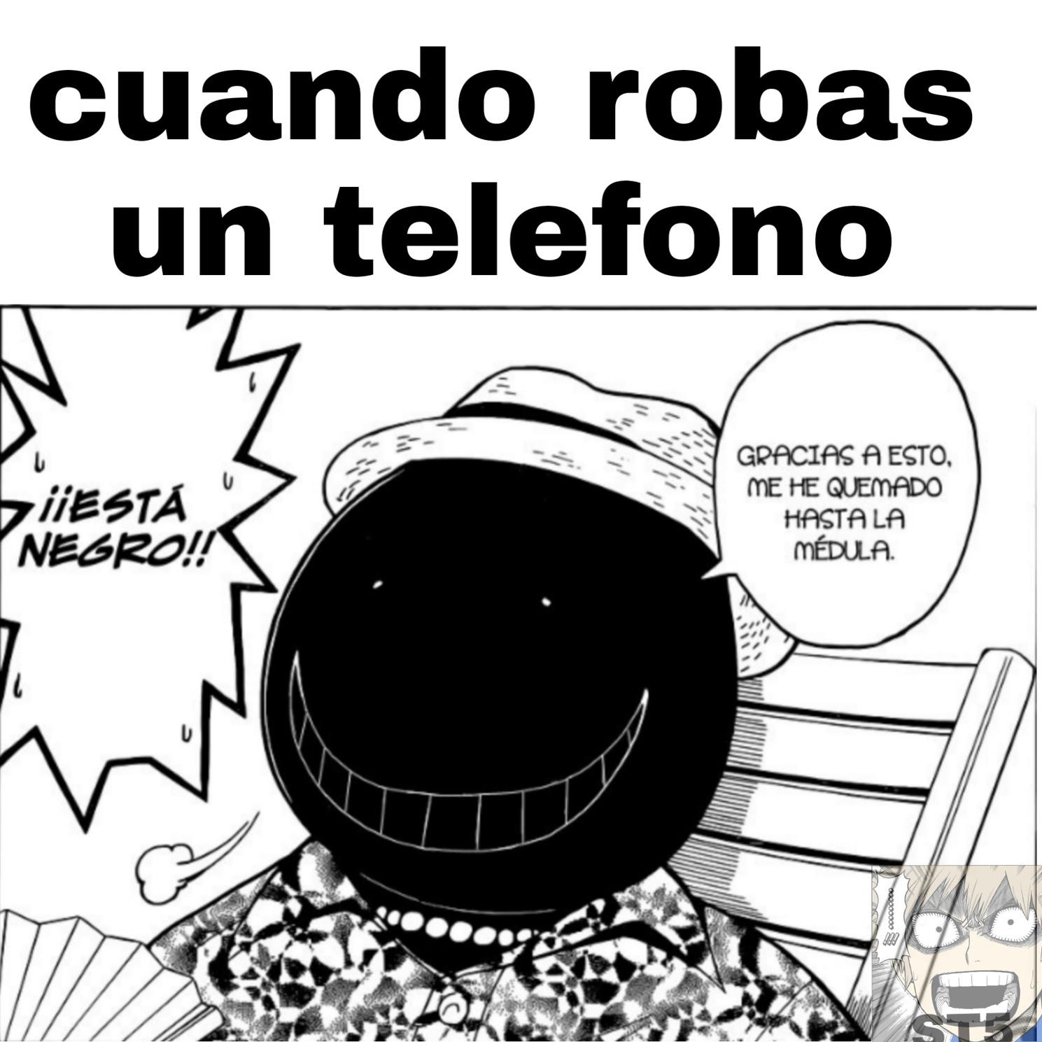Anime/manga assassination classroom - meme