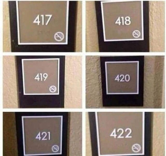 420 is the place to go - meme