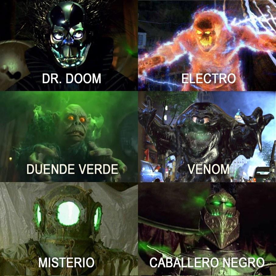 lOS 6 SINIESTROS CONFIRMADOS MEEEN - meme