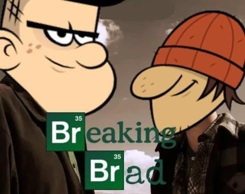 breaking brad - meme