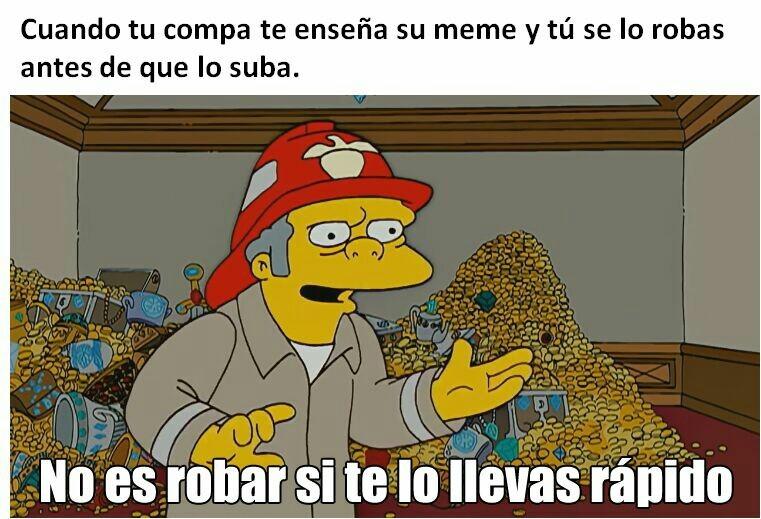 Ladrón - meme