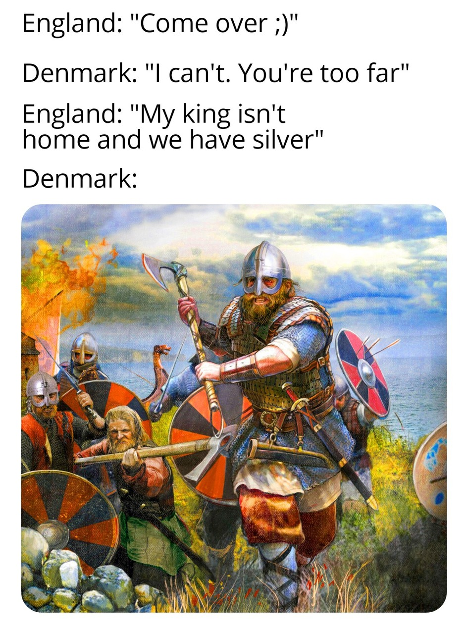 The Last Kingdom or Vikings? Which one's better? - meme