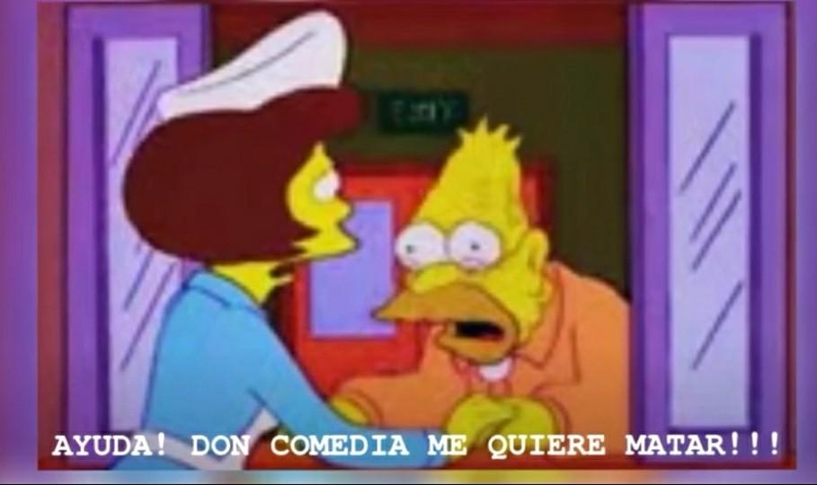 Muere don comedia - meme