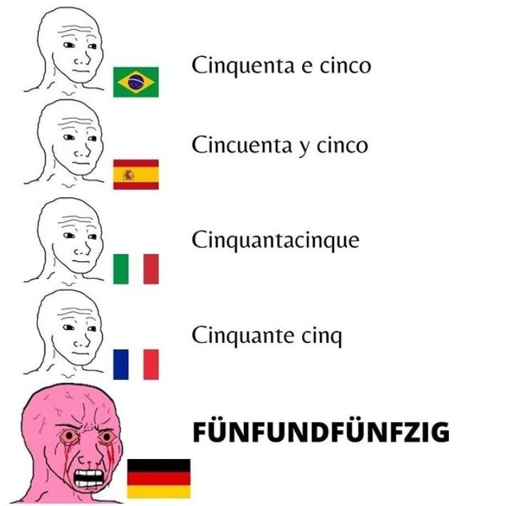 Alemão - meme