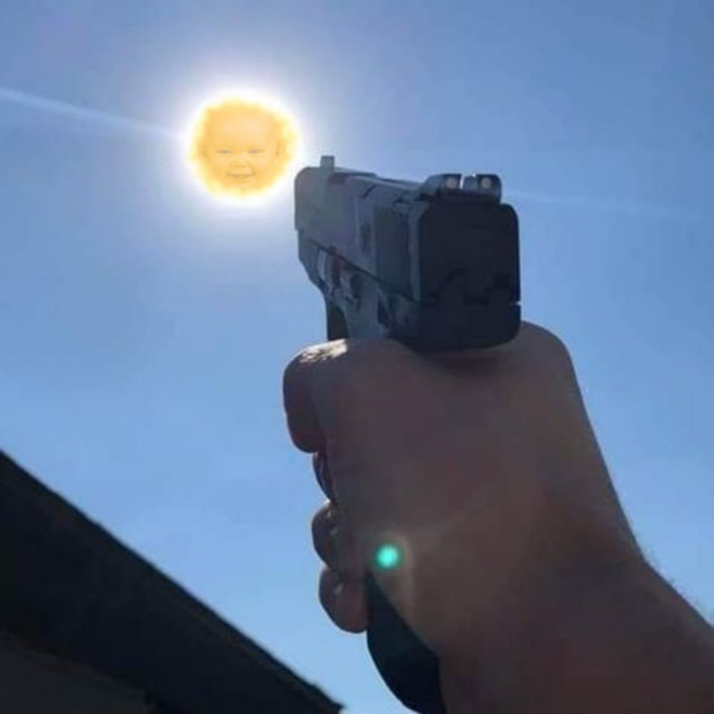 Noooo, no le dispares D: - meme