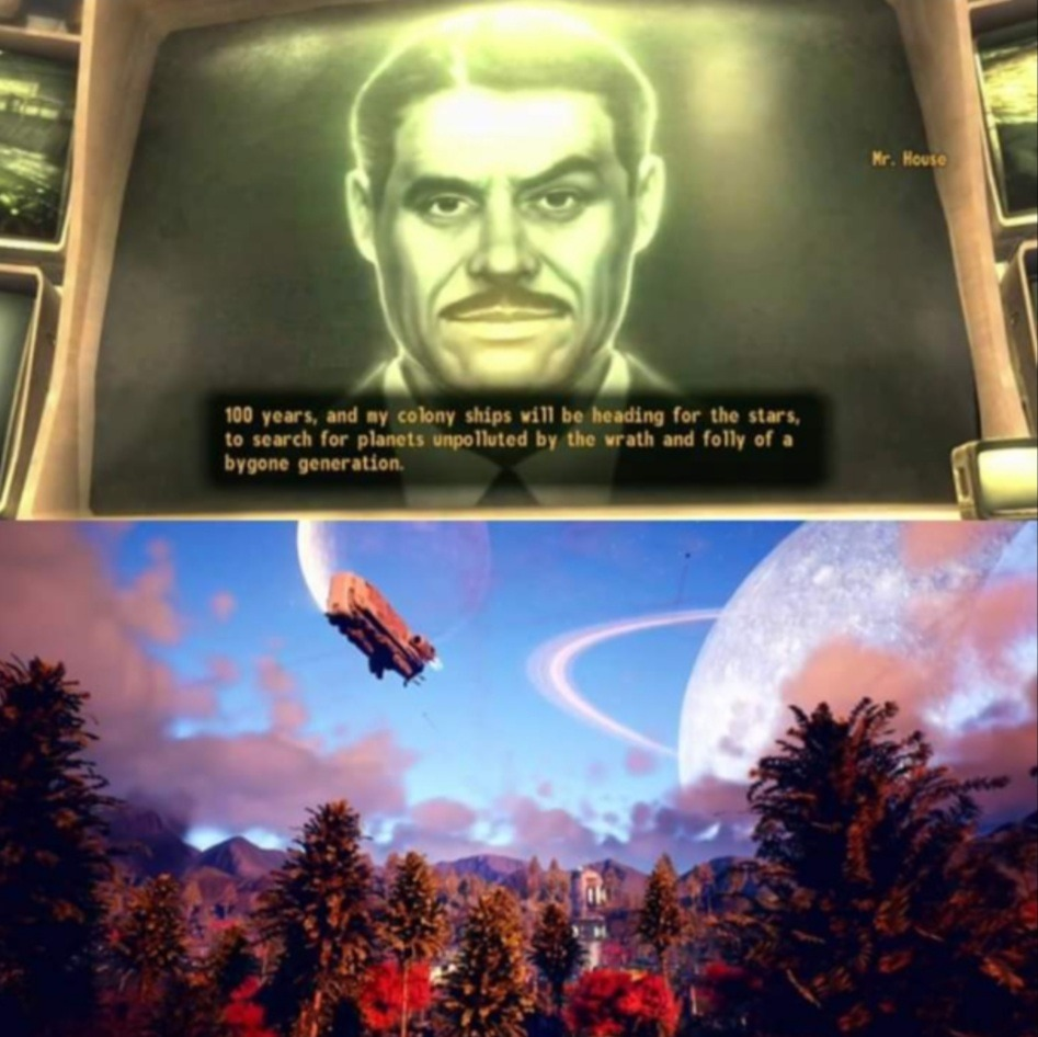 Outer worlds - meme