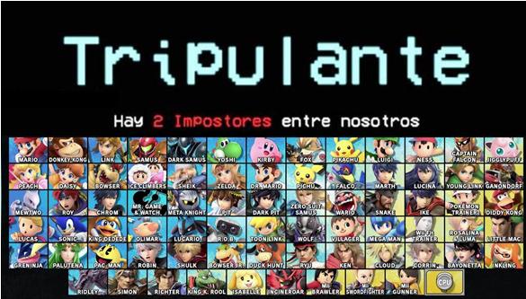 Impostor en Smash Ultimates - meme