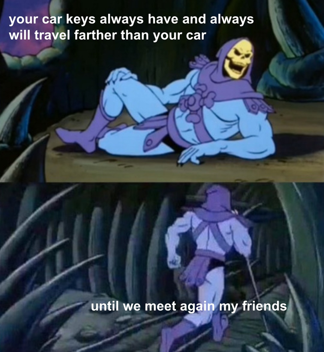 random thoughts with skeletor - meme