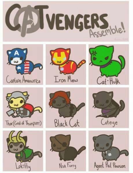 Catvengers..! - meme