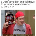 Jumping into an established campaign