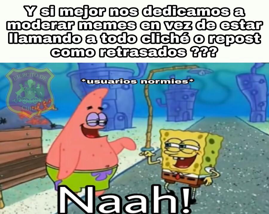 Nah ! - meme