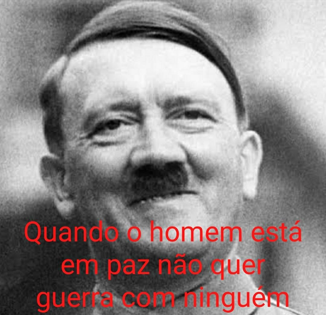 Coloquei Hitler pra chamar a atenção de adolphinhos hehehehe - meme