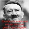 Coloquei Hitler pra chamar a atenção de adolphinhos hehehehe